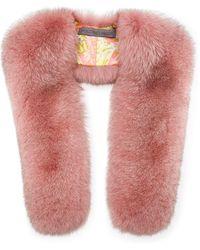 Pologeorgis - Fox Fur Scarf - Lyst