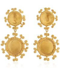 CANO Sue Doble 24k Gold-plated Earrings - Metallic