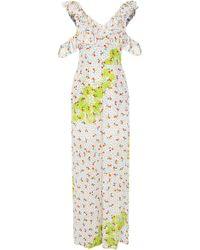 All Things Mochi - Hala Silk Printed Jumpsuit - Lyst