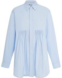 Sportmax - Cotton-poplin Shirt - Lyst