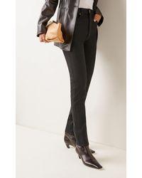 Khaite Vanessa Mid-rise Skinny-leg Jeans - Black