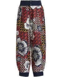 Biyan Fedora Printed Trousers - Orange