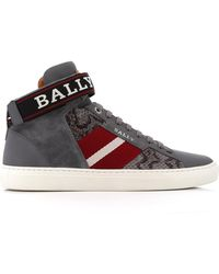 Bally - Heros Strap High-top Trainer - Lyst