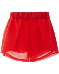Michi - Drive Cropped Athletic Short - Lyst