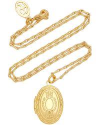 Ben-Amun Gold-plated Locket Necklace - Metallic