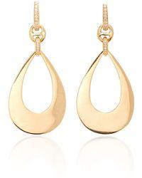 Hoorsenbuhs - Drop Diamond Earrings - Lyst