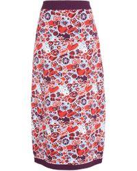 Claudia Li - Jacquard Knit Skirt - Lyst