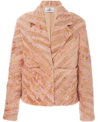 J. Mendel Broadtail Jacket - Pink