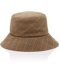 Eric Javits - Checked Bucket Hat - Lyst