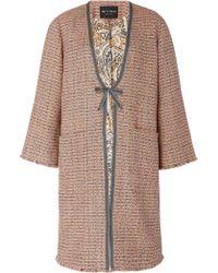 Etro - Norfolk Cotton-blend Tweed Coat - Lyst