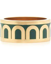 Davidor L'arc 18k Gold Ring - Green