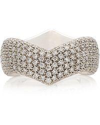 Pasquale Bruni Sensual Touch 18k White Gold Diamond Ring