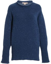 Brock Collection Shaira Oversized Cashmere Sweater - Blue