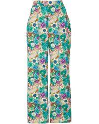 Nina Tiari Garden Flare Pant - Multicolor