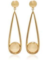 AGMES - Claire Gold Vermeil Earrings - Lyst