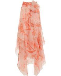 Johanna Ortiz - Sparkling Sand Wrap Skirt - Lyst