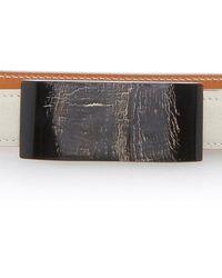 Maison Vaincourt - Leather Belt - Lyst