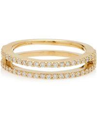 Miansai - 14k Gold Diamond Ring - Lyst