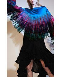 Romance Was Born Opal Metal Frill Skirt - Black