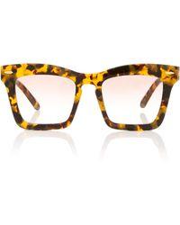 Karen Walker Banks 51mm Wayfarer Sunglasses - Brown