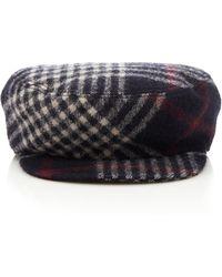 Naly Checked Wool Cap Isabel Marant Sa2JNjaj6r