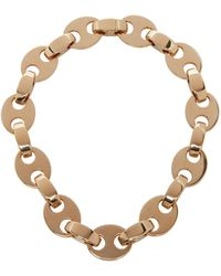 Paco Rabanne Chunky Eight Chain-link Necklace - Metallic