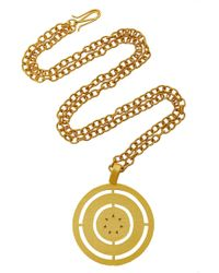 Paula Mendoza | Costa Gold-plated Brass Necklace | Lyst