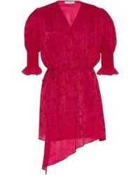 Art Dealer Tyra Asymmetrical Mini Dress - Pink
