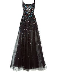 Elie Saab | Sequin Embroidered Tulle Gown | Lyst