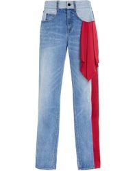 Hellessy - Mallet Mid-rise Distressed Boyfriend Jeans - Lyst