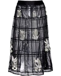 Rahul Mishra - A-line Fleur Skirt - Lyst