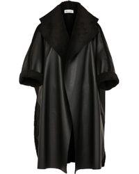 Maticevski Clandestine Coat - Black