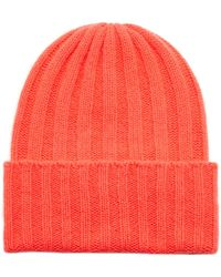 5ce8754756400 The Elder Statesman Straight Ski  Chunky Knit Cashmere Beanie in ...