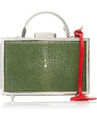 Mark Cross - Mini Brass Grace Box With Stingray - Lyst
