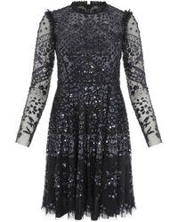 Needle & Thread Aurora Dress - Black