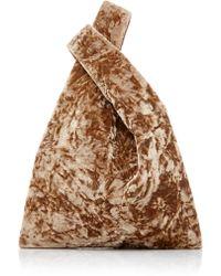 Hayward - Folded Velvet Mini Shopper - Lyst
