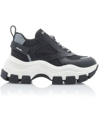Prada Big Sole Sneaker Black/white