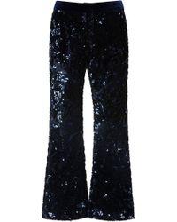 Alexis - Pace Sequin Crop Pants - Lyst