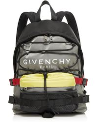 Givenchy - Urban Backpacks Color-blocked Shell Backpack - Lyst