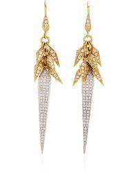 Karma El Khalil - Dancing Pyramid Earrings - Lyst