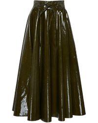 Martin Grant - Vinyl Knotted Circle Skirt - Lyst
