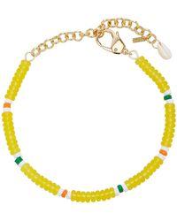 Eliou Tuli Beaded Necklace - Yellow