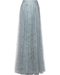 Lena Hoschek Morning Dew Skirt - Blue