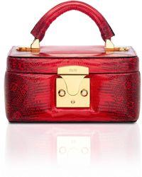 Stalvey Ring Lizard Beauty Case 2.0 - Red