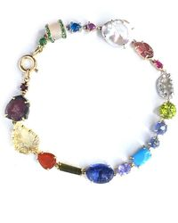 Sharon Khazzam One Of A Kind Multi-colored Baby Bracelet - Metallic