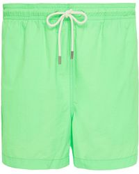 Solid & Striped - The Classic Solid Swim Trunks - Lyst