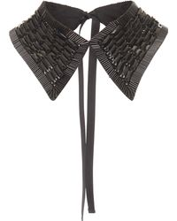 Rochas - Sequin Collar - Lyst