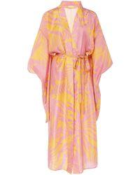 Carolina K Samantha Kimono - Yellow