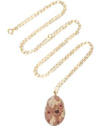 CVC Stones - Tigresse 18k Gold, Stone And Ruby Necklace - Lyst
