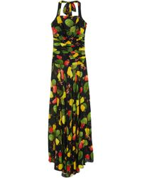 Isolda - Zoe Cashew Dress - Lyst